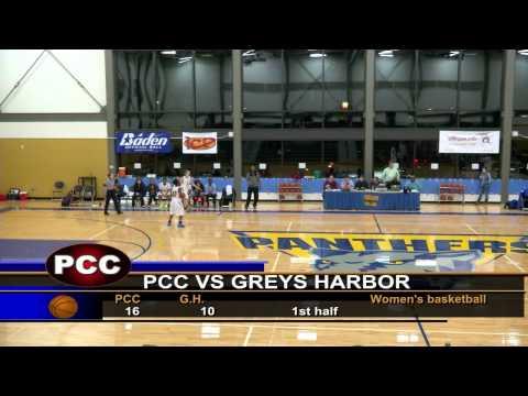 PCC vs Greys Harbor women's first half