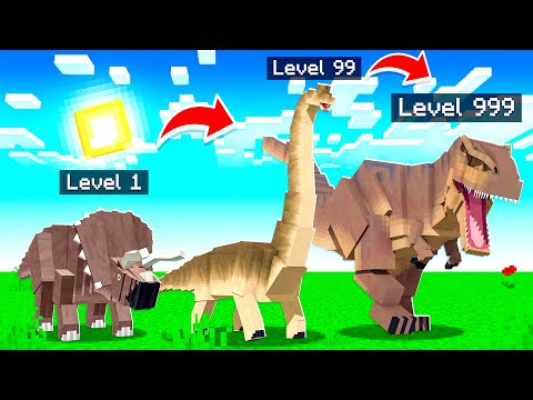 Morphing into EVERY Dinosaur in Minecraft!