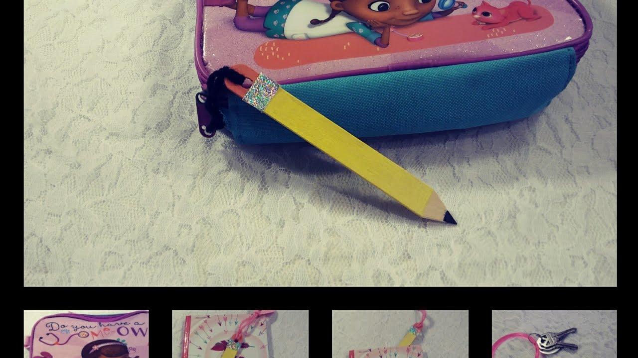 diy back to school idea for kindergartener / elementary kids/ dollar tree  items diy for school/ hack
