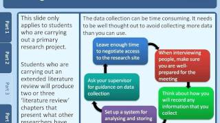Writing a dissertation(Produced by the University of Leicester's AccessAbility Centre, this resource is design to support students with specific learning difficulties with writing a ..., 2011-05-12T11:03:26.000Z)