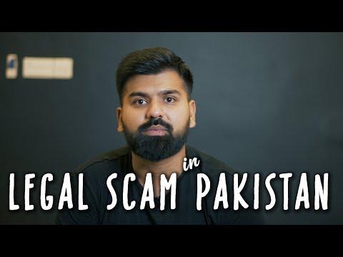 LEGAL SCAM IN PAKISTAN