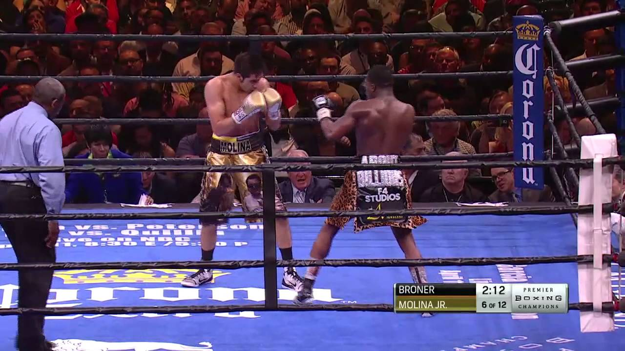 FULL FIGHT: Broner vs Molina Jr. - 3/7/15 - PBC on NBC