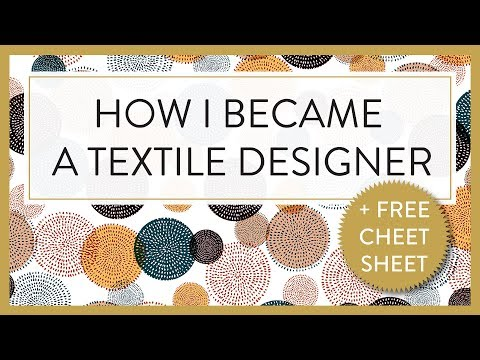 TEXTILE DESIGNER :P HOW I BECAME A TEXTILE DESIGNER