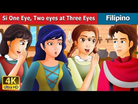 Si One Eye Two Eyes At Three Eyes | Kwentong Pambata | Filipino Fairy Tales