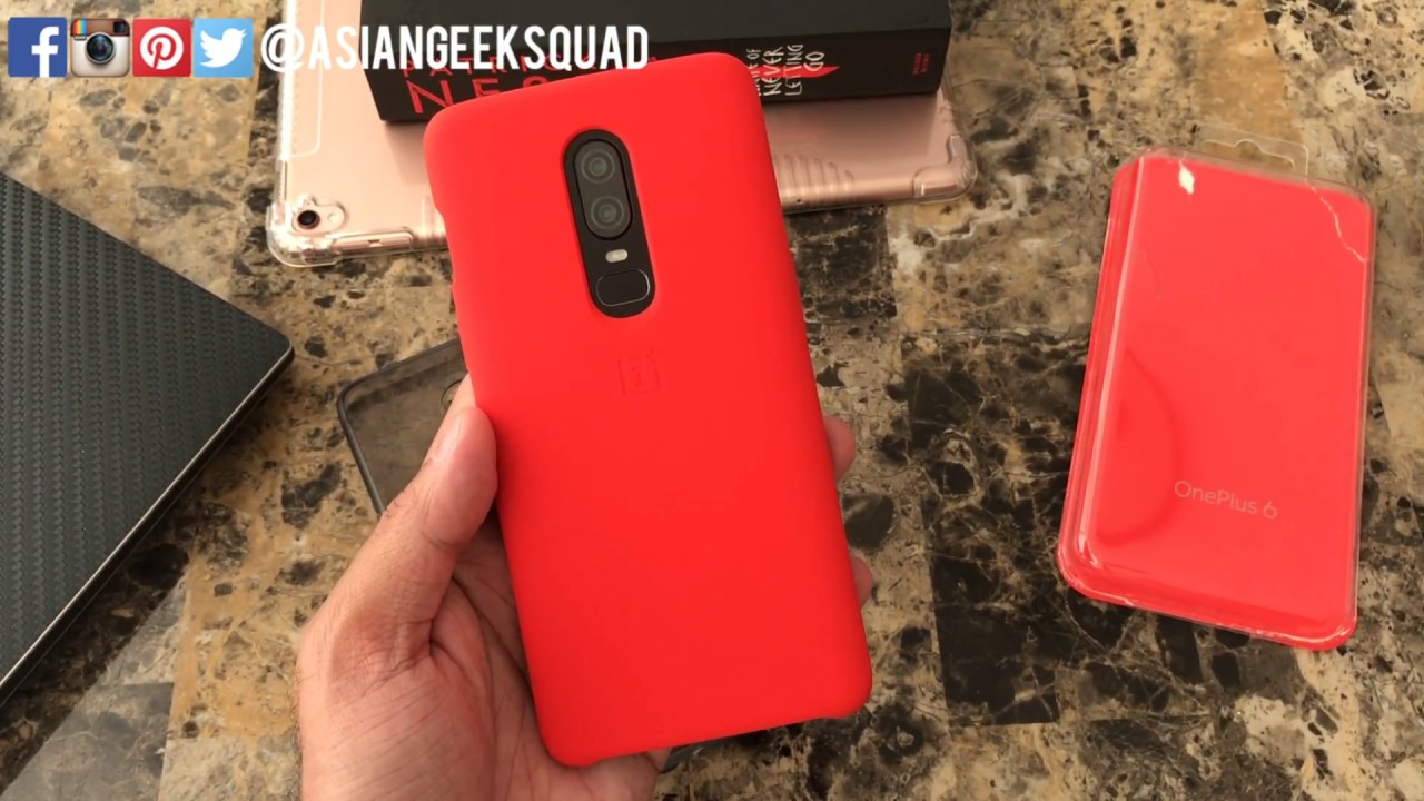 outlet store 8cffa 4cb90 OnePlus 6 - Silicone Red Case