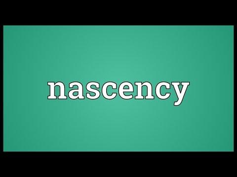 Header of nascency