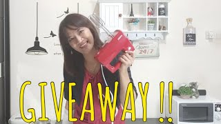 GIVEAWAY!! 3 HAND MIXER TURBO EHM 9000 dan Hijab FYIO by Fionny