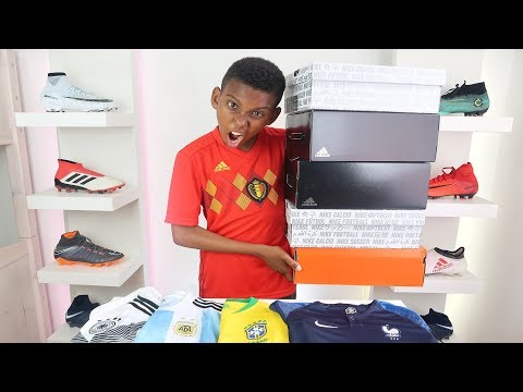 Unboxing 5 Epic Pairs of World Cup Football Boots + Soccer Shirts adidas & Nike