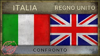 ITALIA vs REGNO UNITO | Classifica Potenze Militari | 2018