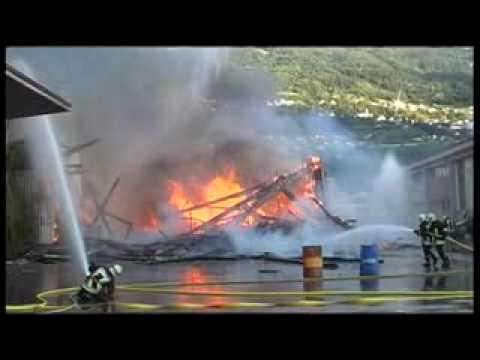 Film de promotion des sapeurs-pompiers en Valais - Suisse
