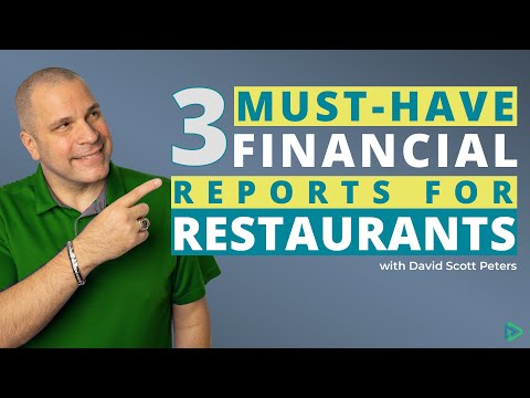 Make Your Restaurant Financial Reports Work for You - How to Run a Restaurant #restaurantowner