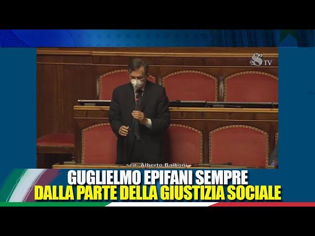 Il Sen. Balboni interviene in commemorazione di Guglielmo Epifani