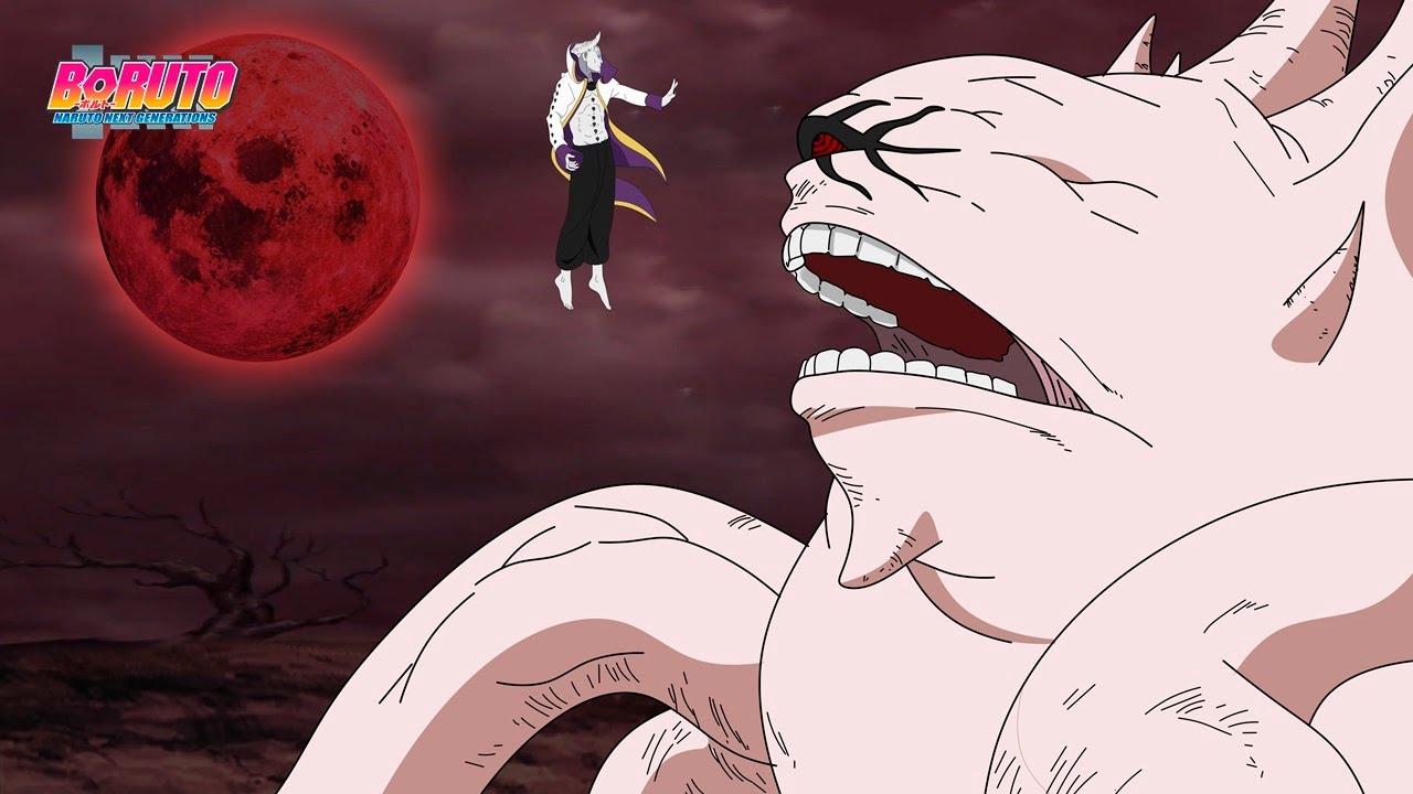 Boruto vê Isshiki Otsutsuki invoca Juubi a 10 caudas na Batalha e para derrotar Naruto - Boruto