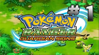 ☀ Pokemon Ranger - Guardian Signs Part 1 [ENG]