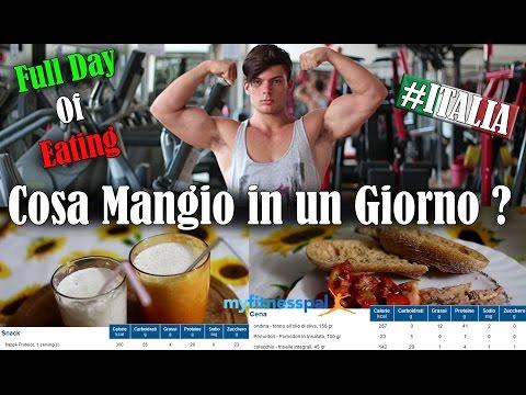 FULL DAY OF EATING ITALIA #1 | COSA MANGIO IN UN GIORNO ? | Tisana Salutare