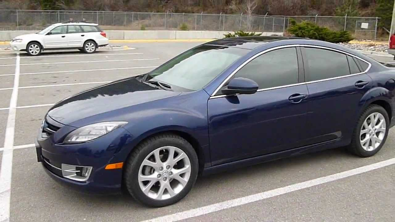 2009 mazda 6s grand touring 3 7 litre v 6 walk around and. Black Bedroom Furniture Sets. Home Design Ideas