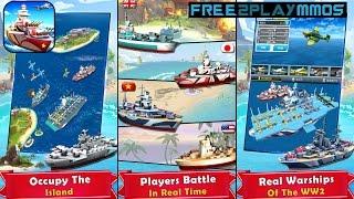 Battleship Clash:Naval Warfare Gameplay Android / iOS