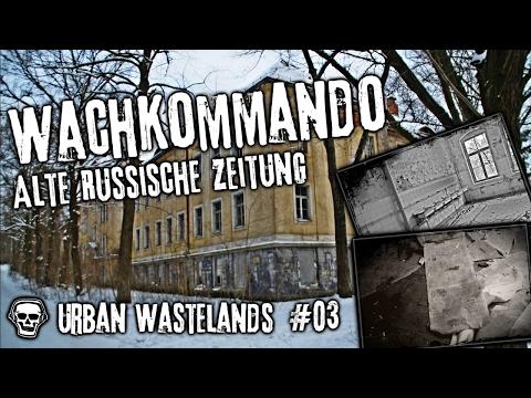 URBAN WASTELANDS - Wachkommando - Alte russische Zeitung! #UrbanExploring