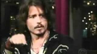 Best of Johnny Depp on Letterman [Part 1]