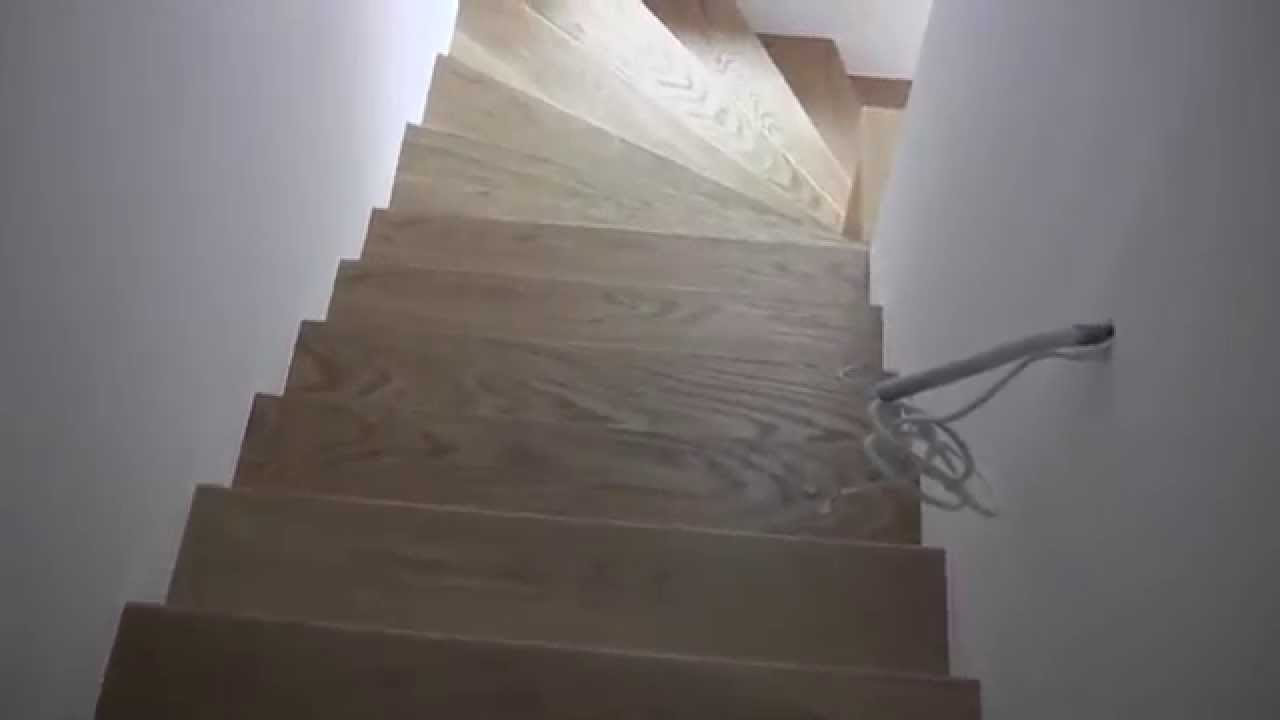 Treppen Bilder Parketttreppen Mit Stufen Aus Fertigparkett - Youtube