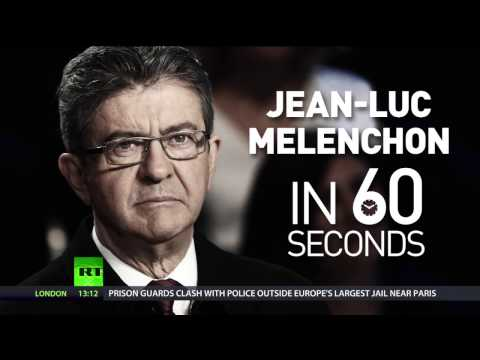 Left on the rise: Melenchon surges ahead in French presidential polls