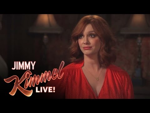 3 Ridiculous Questions with Jimmy Kimmel and Christina Hendricks