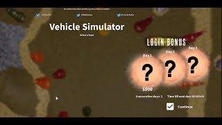 roblox vehicle simulator codes 2019