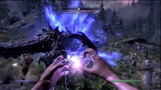 Skyrim: Dragon Fight - The Ending Boss!