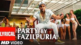 Party By Fazilpuria Lyrical Video Song | Lil Golu, Kumaar | T-Series
