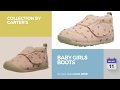 Baby Girls Boots Collection By Carter's