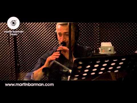 Ilhan Dondurma Zurna RECORDING (Grup Yasam Halay Potpori 2012) in the studio with Martin Barman