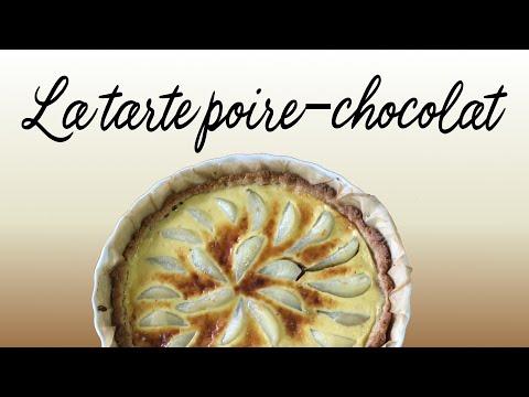 tarte-poire-chocolat-🍫