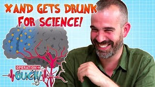 Xand Gets Drunk in the Name of Science   Operation Ouch   Science for Kids