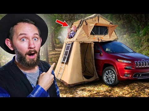 10 of the Worlds Craziest Tents You Can Actually Buy!