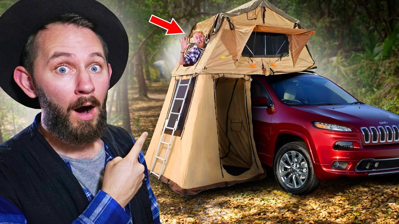 10 of the World's Craziest Tents You Can Actually Buy!