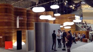 Video stand MOLO - M&O Paris, January 2019 - iStandVideo