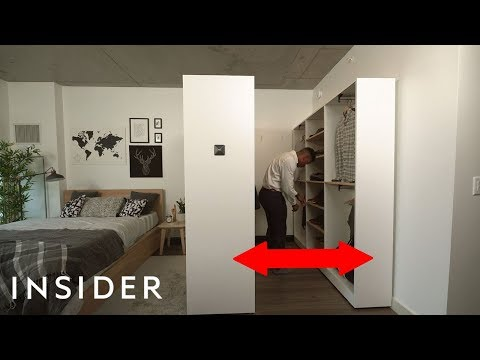 We Tried A Smart Expanding Walk-In Closet For Small Spaces