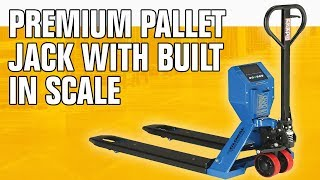 Pallet Scale Truck with Digital Scale, Premium