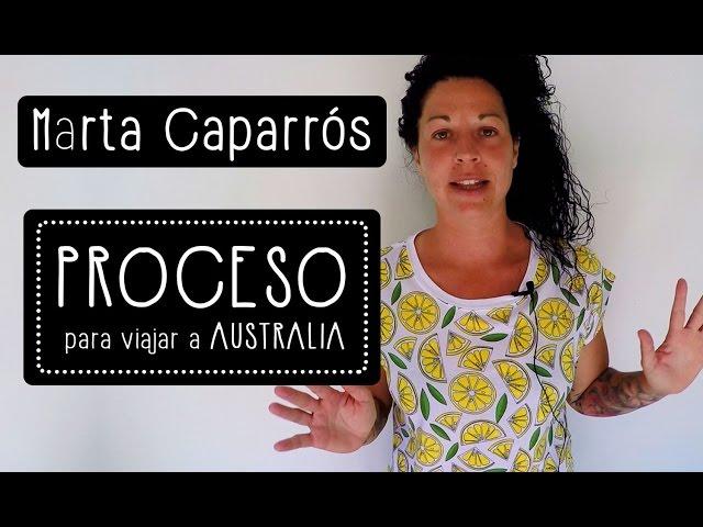 Marta Caparrós: 10 pasos para ir a estudiar y trabajar en Australia