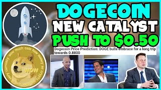*FAST* DOGECOIN IS GOING TO REACH $0.555 AFTER THIS CATALYST! (MUST WATCH!) Elon Musk, MARK CUBAN!