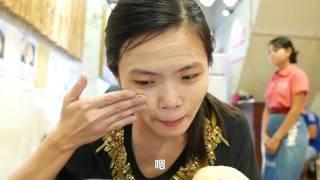 【缅甸vlog】01-仰光城堵车堵一路,朱琮琮笑抹防晒泥