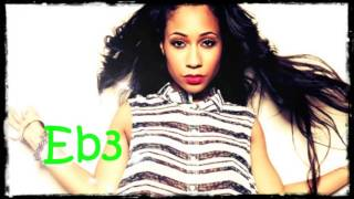 Tiffany Evans hits G6 singing acapella
