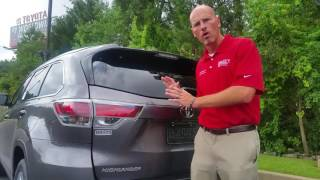 2016 Toyota Highlander power rear hatch trouble shooting with The Fist Pump Guy