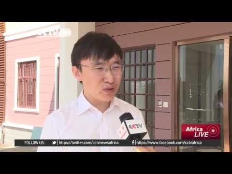 Chinese troops in South Sudan celebrate with sweet treats