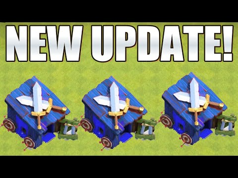 Clash of Clans - NEW UPDATE IDEAS! BLUE BARRACKS & WATER TROOPS! (Clash of Clans New Update)