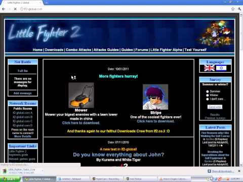 How to download little fighter 2 and its all kinds of mods for free !