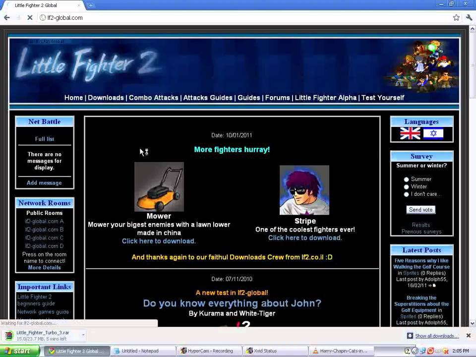 Dbz little fighter 2 0. 2. 3 file dragonball games and mods mod db.
