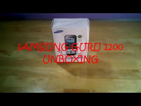Samsung Guru 1200 Unboxing & Hands On - GADGET PARK