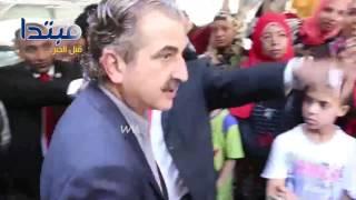 فيديو| شلتوت والعدل يلحقانبجنازة طارق سليم