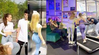 Best of  Hot Russian Girl Prank Videos | Fitness.Samka Tiktok | @Fitness samka Funny Videos